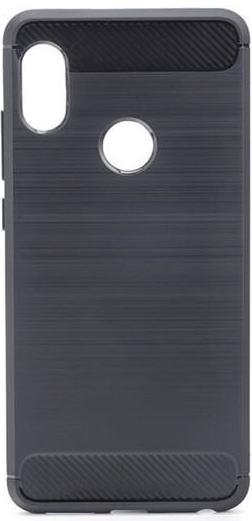 puzdro na mobil Púzdro Carbon Lux TPU Xiaomi Redmi Note 6 - čierne ... ca64ac73dc6