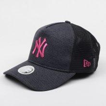 New Era 9FORTY A-FRAME TRUCKER MLB JERSEY ESSENTIAL NEW YORK YANKEES šedá  80636043 866fc0d1ee