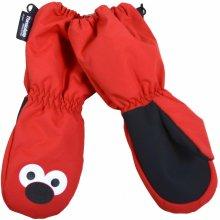 Pidilidi Dievčenské palcové rukavice - červené