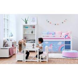 2a8c3eca75609 Hoppe Kids Detská izba pre dievča Jednorožec I biela alternatívy ...