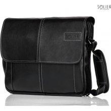 Solier pánska taška S15 čierna