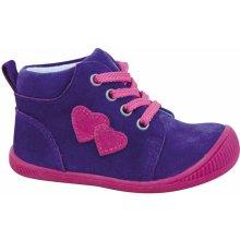 ff9f882c3 Protetika Dievčenské členkové topánky Baby fialové