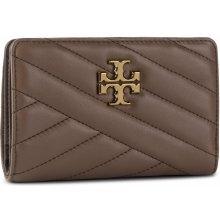 022d0e011 Tory Burch Veľká Peňaženka Dámska Kira Chevron Medium Slim Wallet 56607  Classic Taupe 294