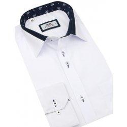 e8a1a36c62b5 Beva Slim Elegantná biela košeľa dlhý rukáv 2T140 od 29