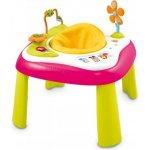 Smoby Cotoons Multifunkčný didaktický stolček Youpi Ružová