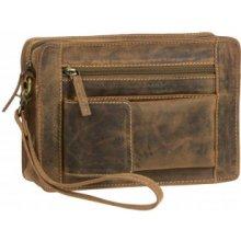 7fd222525d Greenburry 1732M-25 kožená taška na zápästie