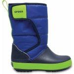 Crocs Lodge Point Snow Boot detské topánky Blue Jean/Navy