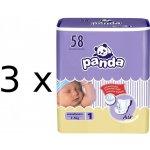 Panda New Born 3 x 58 ks