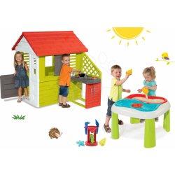 71cfe62a83cae Smoby set domček Pretty Nature a stôl Piknik s dvoma stoličkami KidChair  81070216