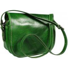 9ce1d2ee51 talianská kabelka Floriano Verde