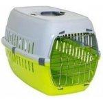 Papillon Pet Products Prepravka plastová zeleno - sivá 49x32x30cm (pre mačky)