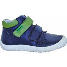 ee1086e0c193 Protetika Chlapčenské členkové barefoot topánky Margo modré