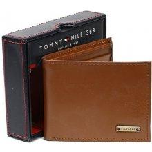 Tommy Hilfiger kožená pěněženka 31HP22X014 hnědá light