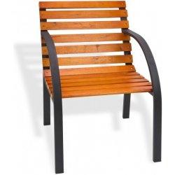 43154398e48e DEMA Záhradná stolička Modern 55 cm drevo  kov od 49