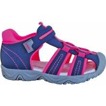 fa6f35170ef4 Protetika Dievčenské sandále Art modro-ružové