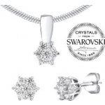 Silvego strieborný set šperkov so Swarovski Zirconia JJJS2338