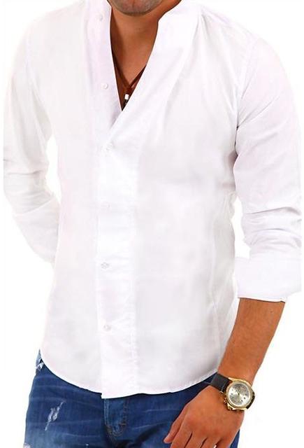 342196268685 Pánska košeľa Carisma košeľa pánska 902 dlouhý rukávstojatý golier ...