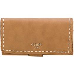 38f621d2a7 Guess Elegant nej dámska peňaženka Julia na FileClutch in Cognac ...