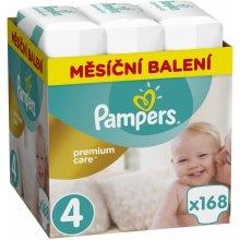 Pampers Premium Care 4 MAXI 8-14 kg 168 ks