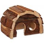Small Animal domek Hobit dřevěný 15x10x9 cm