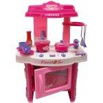 Kindersafety Detská kuchynka ružová Kitchen set
