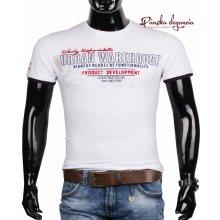 10972-3 Bavlnené pánske tričko s krátkym rukávom