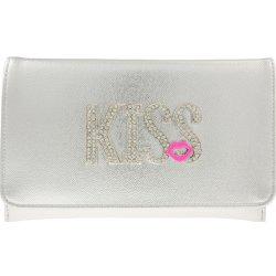 cf83f5f1a94c listová kabelka s nápisom Kiss K-A725 strieborná alternatívy ...