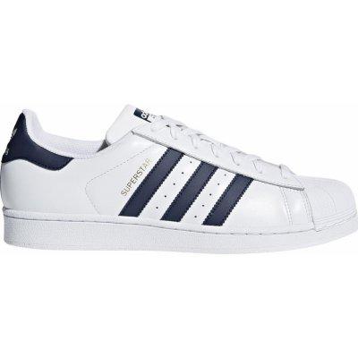 Adidas tenisky Originals SUPERSTAR Biela / Tmavo modrá / Zlatá