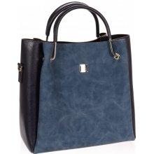 Grosso elegantná dámska kabelka S728 Modrá a3659572565