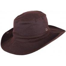 96e55e4e3 Assante Pánsky hnedý nepremokavý klobúk 81042