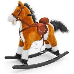 Milly Mally Hojdací koník so zvukmi Mustang svetlo hnedý