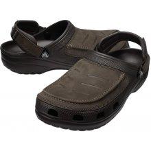 Pánska obuv do vody Crocs YUKON VISTA CLOG M BROWN 81313cef55
