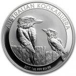 Kookaburra Stříbrná mince 1 AUD Australian Ledňáček 1 Oz 2017