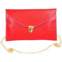 Listová kabelka červená