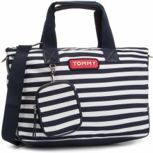 Tommy Hilfiger Varsity Nylon Stripe Small Tote AW0AW06245 902 d8f92aac797