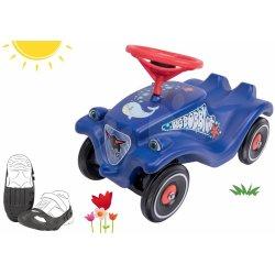 ff2de43a4996 BIG set auto Ocean Bobby Car Classic modré a ochranné návleky na topánky  56109-2
