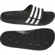 Adidas Duramo Slide Pool Shoes Mens Black/White