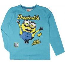 E plus M Chlapčenské tričko Mimoni - modré