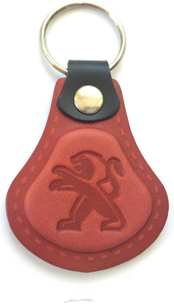 Prívesok na kľúče Kožená Peugeot červená alternatívy - Heureka.sk fe1543f3c39