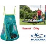 Hudora Záhradná hojdačka pre deti Hniezdo + stan 90cm nosnosť 100kg
