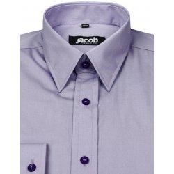 3d566d2e929d Česká republika Fialová košeľa vypasovaná JACOB 10253 od 24