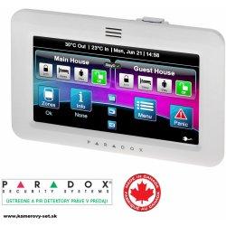 Paradox TM50 - Dotyková ovládacia klávesnica