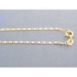 4b77887c8 MARM Design Zlatá retiazka platničky žlté biele červené zlato VR505252V 14  karátov