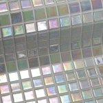 SAPHO IRIS PERLA oxidu plato sklenenej mozaiky 2,5 x2, 5cm; 0,155 m2 PERLA