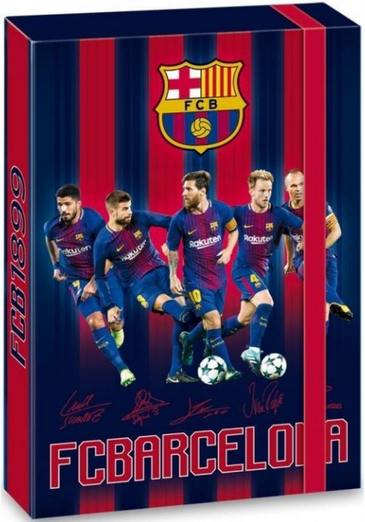 34a0a0c651 Box na zošity A4 FC Barcelona od 3