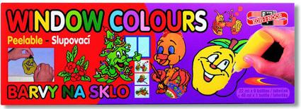 Farba na sklo Farba na sklo KOH-I-NOOR sada 10 ks 9x22 ml + 1x40 ml ... abadf1ca25f