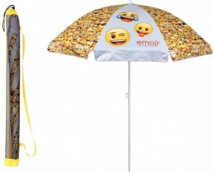 d978f60ec Dáždnik Detský plážový slnečník s UV ochranou EMOJI 0569 ...