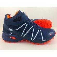 Pánska trailová obuv 2919M8 Navy Oranžová