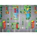 Spoltex Detský koberec Playground šedý