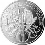 Wiener Philharmoniker 2018 1 oz Rakúsko strieborná investičná minca